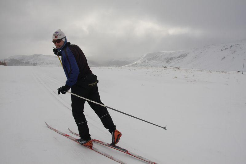 Banière ski de fond
