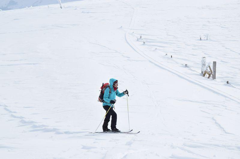 Banière ski de rando