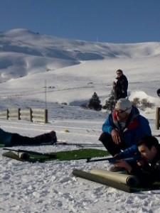 Biathlon en famille(2)